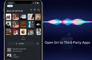 open siri to third party app