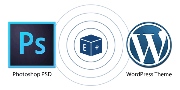 convert any psd to wordpress