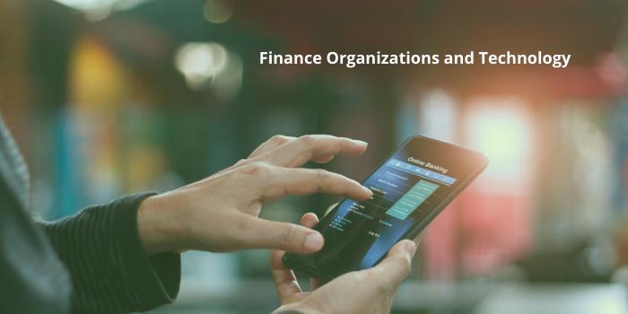 finance organizations and technology
